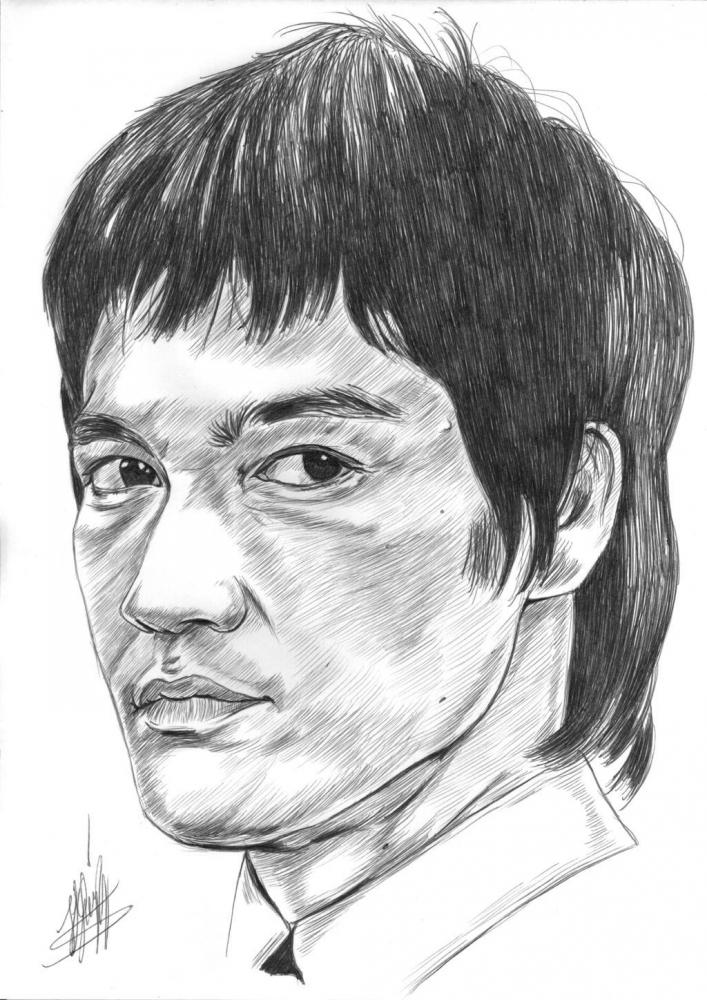 Bruce Lee by jjg2018